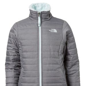 Girl's North Face reversible coat.